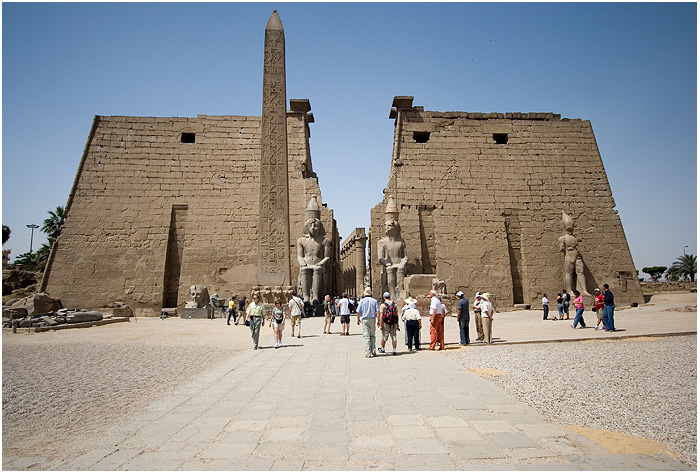 Egypt - Luxor - Temple - The Gate