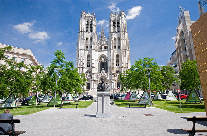 Belgium - Brussels - St.-Michael-and-St.-Gudula Cathedrale